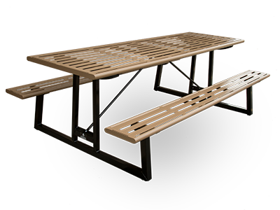 Chicago Picnic Table. View Metal Picnic Tables