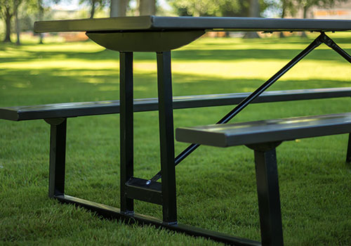 Powder Coated Picnic Tables