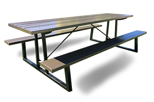 Attractive Commercial Outdoor Picnic Tables