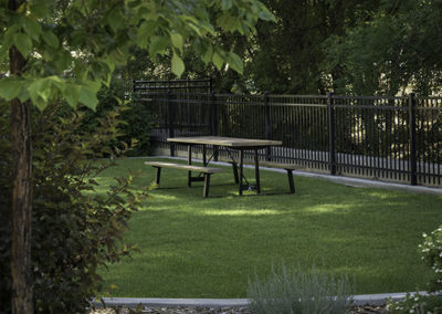Commercial Park Steel Picnic Table