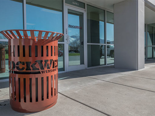Laser Cut Trash Receptacles