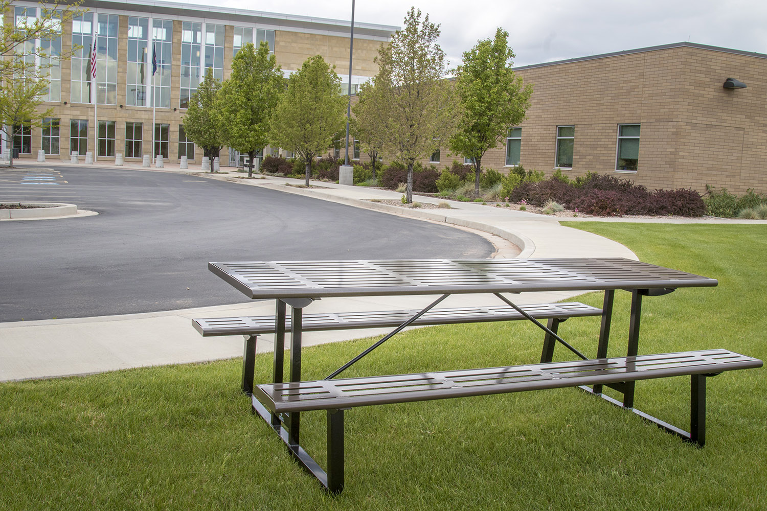 Stainless Steel Metal Picnic Table Utah County Quality Site Furniture - Stainless steel picnic table