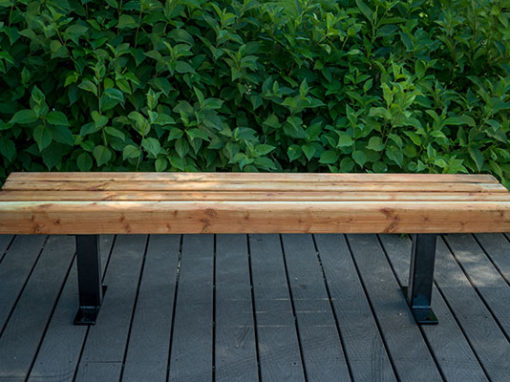 Modern Wooden Benches