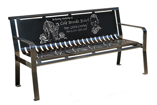 Contemporary-Memorial-Bench