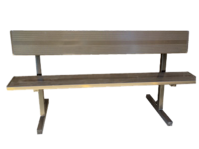 Surprising Metal Dugout Benches Quality Site Furniture Ocoug Best Dining Table And Chair Ideas Images Ocougorg