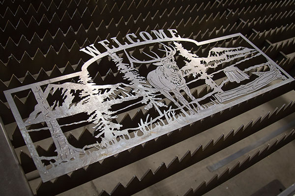 Laser Cut Signs Quality Site Furniture